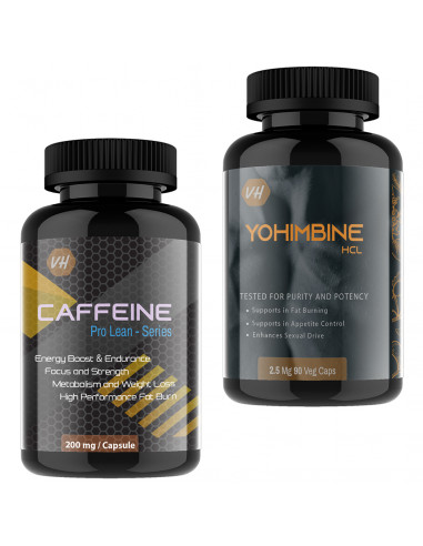 Caffeine weight loss with Yohimbine